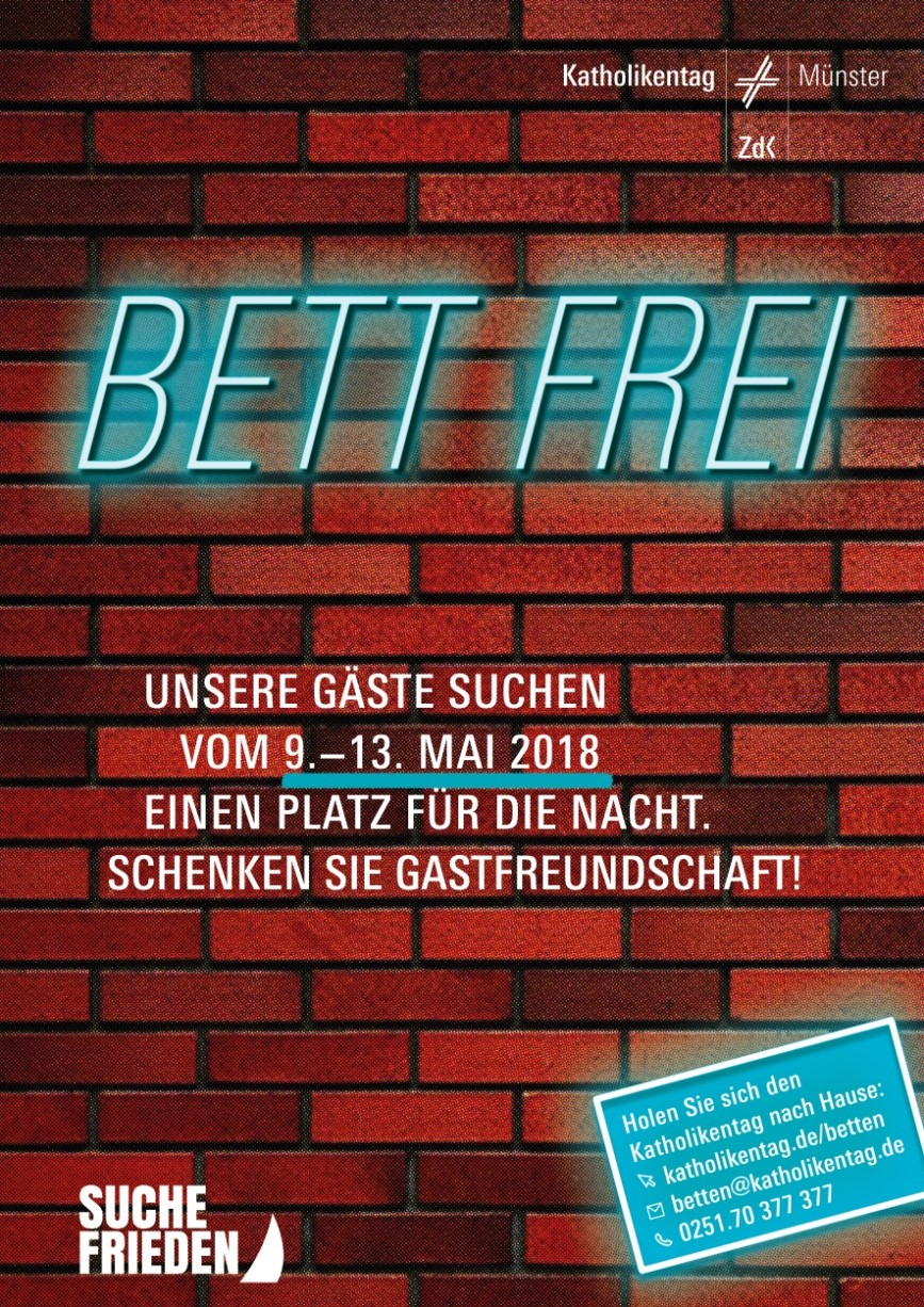 Katholikentag: Bett frei - www.liebfrauen-muenster.de